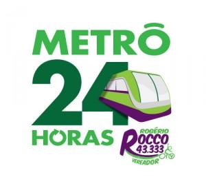 Metrô 24 horas